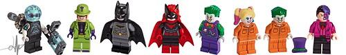 Updated Lego Batman Minifigures