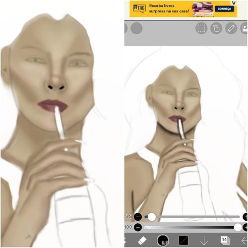 Selena Gomes digital art...