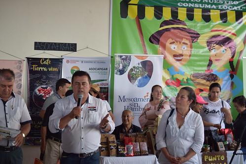 Inauguración de la Placita Campesina en Garagoa, Boyacá