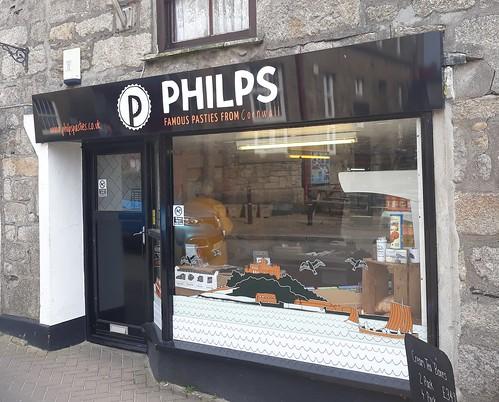 Philps Pasties Marazion 13th April 2019