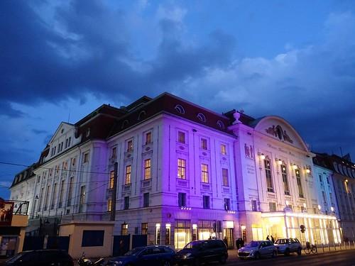 Wien, 3. Bezirk (the art of very historic places in the suburbs not far away from downtown Vienna) - Wiener Konzerthaus (casa dei concerti, casa de los conciertos, la maison des concerts, House of concerts), Lothringerstraße/Am Heumarkt