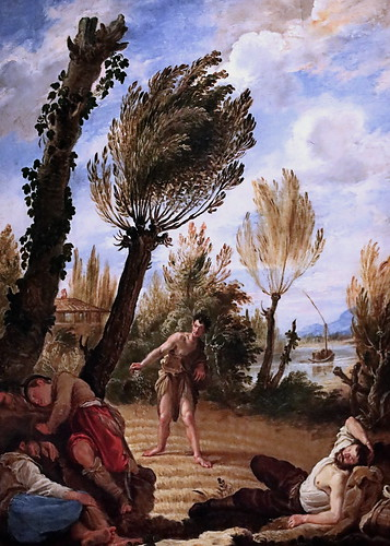 IMG_1157A Domenico Fetti 1589-1623 Venice The Parable of the Weeds  La parabole des mauvaises herbes1622 Madrid Thyssen-Bornemisza.