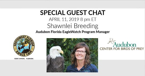 Audubon Special Guest Chat 4-11-19 at 8pm