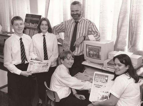 Academy news reporters 1996