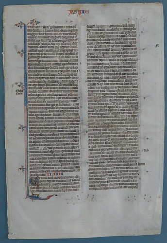 BIBLE LEAF Ref 554 recto