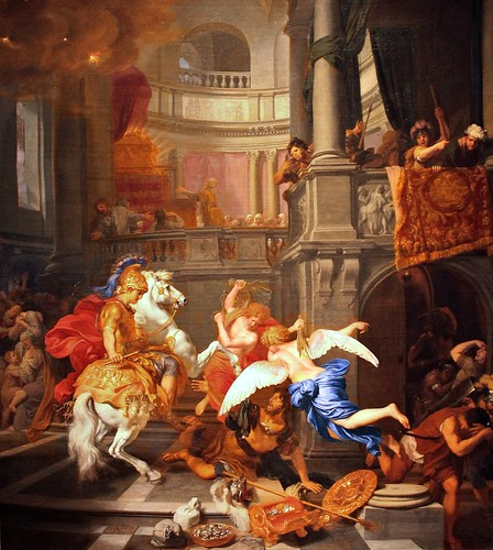 Gerard de Lairesse. The Expulsion of Heliodorus from the Temple. 1674