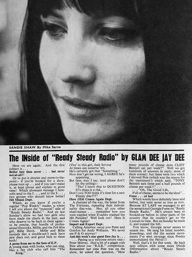 65-1106-13 - Sandie Shaw (Pop Weekly 4-11)