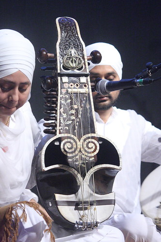 Mandolins, Bouzoukis, etc. [Necked Bowl Lutes] 193: Saranda (of Raj Academy musician)