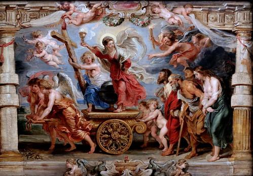 IMG_4204A Peter Paul Rubens. 1577-1640. Anvers.  Le triomphe de la foi catholique.  The triumph of the Catholic faith.  Burxelles    Musées Royaux des Beaux  Arts de Belgique.