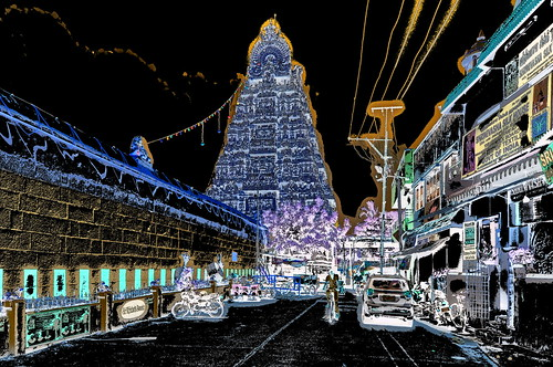 India - Tamil Nadu - Kanchipuram - Kamakshi Amman Temple - 143dd