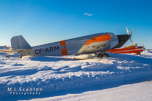 CF-ARM Canadian Airways Limited | Junkers JU-52/1M | Winnipeg International Airport