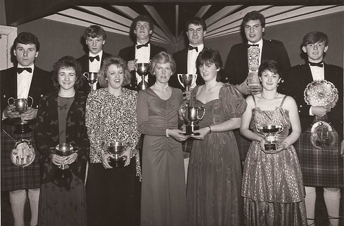 Arbroath JAC dinner1987
