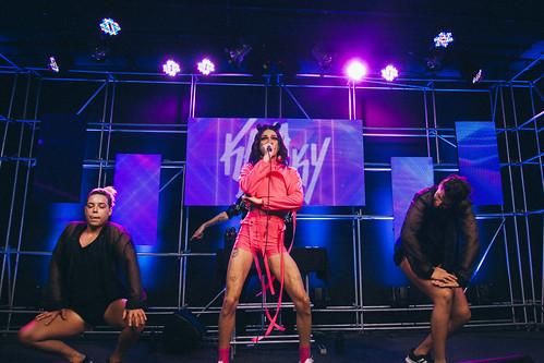 Kaya Conky no Release Showlivre (19/02/2019)