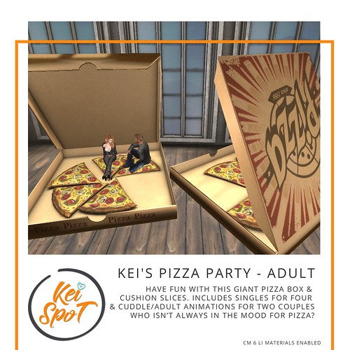 Kei's Pizza Party