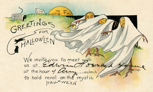 Greetings for Halloween—Invitation for Revelry on Mystic Halloween, 1923