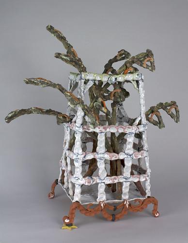 Heather Rosenbach, Fronds in Fancy Vase, 2018, 23