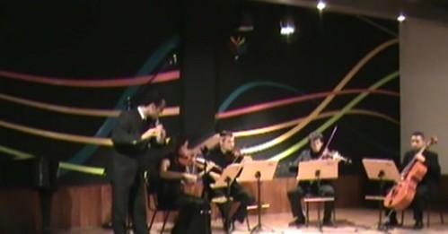 imagem. Quarteto de Cordas Interlúdio, VISITA Musical 2009 II