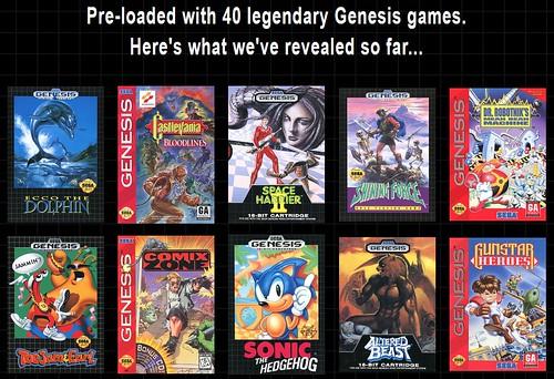 SEGA Genesis Mini coming this September for $79.99