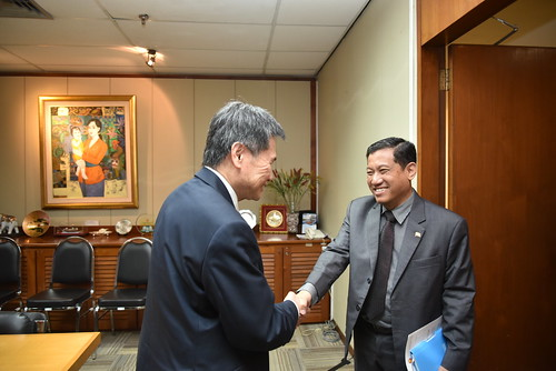 Courtesy call by Director-General DDM Myanmar, Dr. Ko Ko Naing