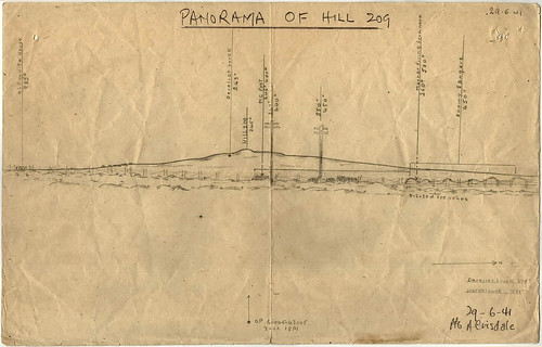 29 June 1941 - Panorama of Hill 209 (aka