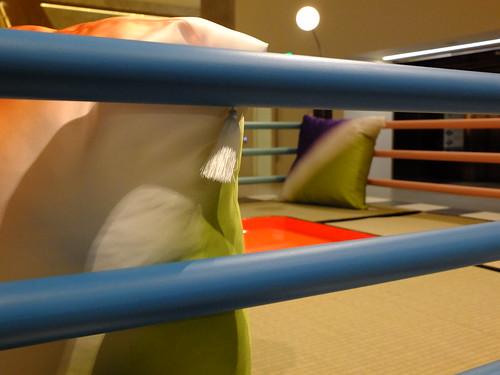 The Tawaraya Boxing Ring bed