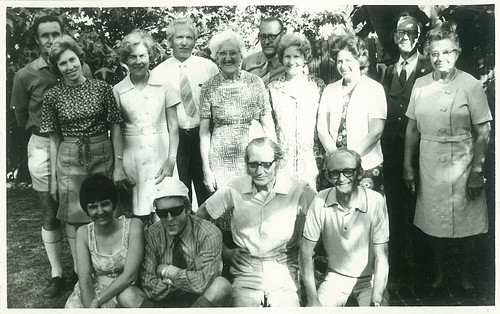 Bridge family xmas party somewhere in Perth WA, 1971 - aunts and uncles
