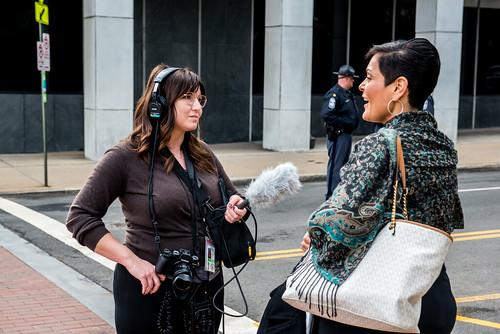 WCVE Legal Reporter Whittney Evans interviews Delegate Hala Ayala (D - Prince William)