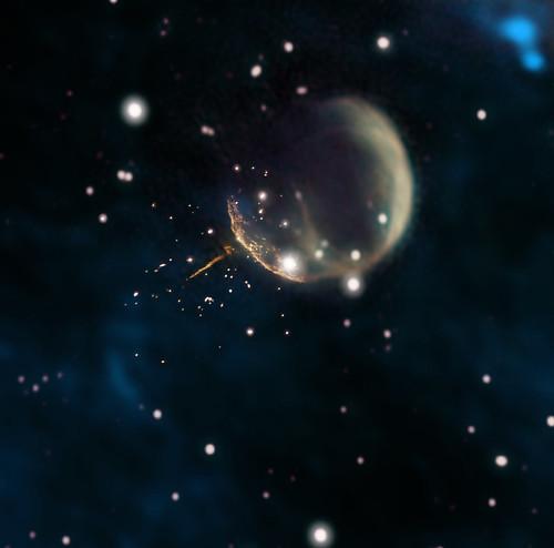 Fermi Cannonball Pulsar