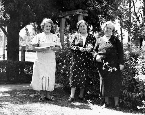 Christina Alice Bridge, Mystery Lady, Ellen Hannah (Nellie) Henry nee Bridge at Gosnells, WA - year?