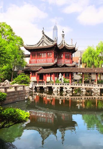Visite du jardin du mandarin Yu, à Shanghai