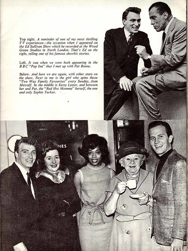 63-0909-10 - Frank Ifield - Ed Sullivan - Jean Metcalfe - Ketty Lester - Pat Boone - Sophie Tucker  (Star Special #9)