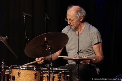 Paul Lytton: drums