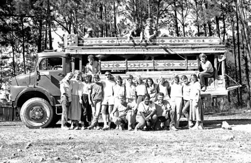 1986 Peace Corps group at la Forêt des Pins, Haiti.