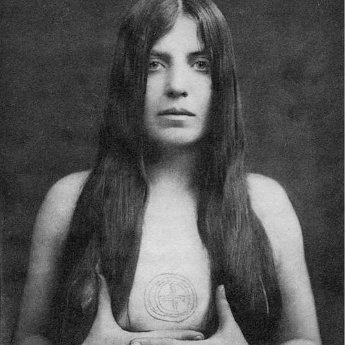 """""""Yes. She's calling to you. Just hold fast and keep on with the Work. I had a thought occur this morning that you should look into Leila Waddell. ... She was L.A.Y.L.A.H. Laylah is Arabic for night. She was the Scarlet Woman. Babalon Incarnate."""" —Excerpt"""