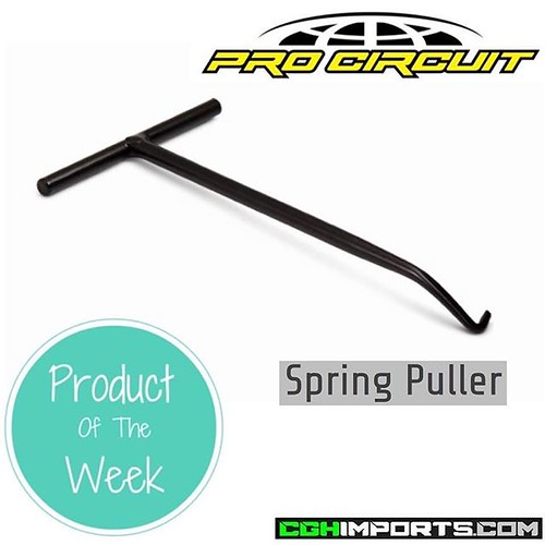• P R O D U C T • O F • T H E • W E E K • Pro Circuit Spring Puller Spring Puller Description: The Pro Circuit Pipe Spring Puller is constructed from quality metal for durability and is designed to easily remove or install pipe springs on your exhaust. To