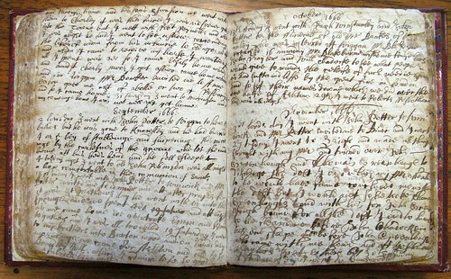Diary of Roger Lowe, 24 August to 30 November 1666