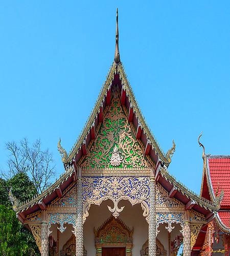 Wat Si Bun Chu Wang Hai Phra Wihan Gable (DTHLU0462)