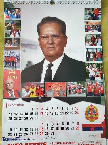 TITO - 2019 Kalendar - Balkans