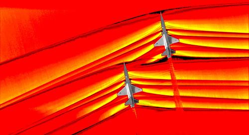 Supersonic Shock Waves, variant