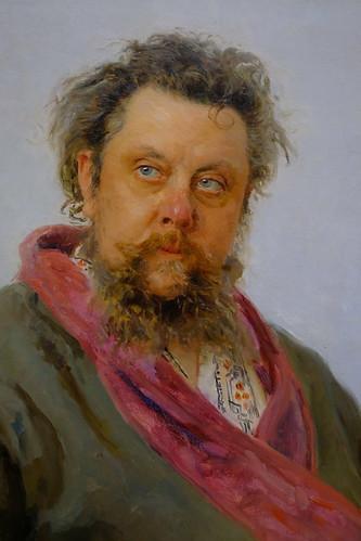 XE3F4840 - Portrait of M. P. Mussorgsky (1881), by Iliá Repin