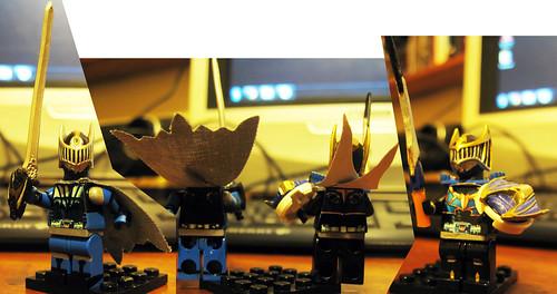 Rider Ryuki Dragon Knight LEGO Wing Knight Suvive