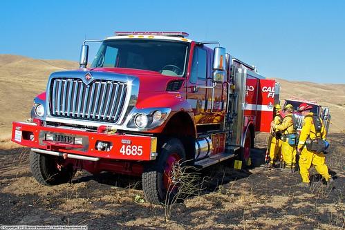 Cal Fire BEU Fire Engine 4685