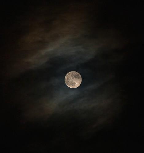 lluna de balcó i de nit  II - moon of balcony and night II