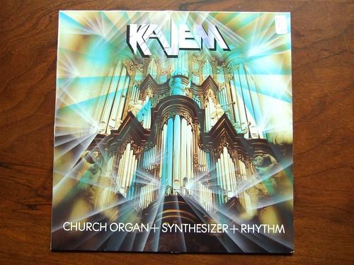Kajem - Church Organ + Synthesizer + Rhythm - Dureco Benelux 88.108