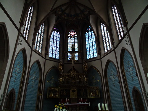 Karlsruhe, Baden-Württemberg, state of Germany (Kirche St. Bernhard von Baden), church of Bernhard II, Margrave of Baden-Baden, l'église de Bernard II de Bade, chiesa di Bernardo II di Baden, Bernard II Badeński (Bertholdstraße)