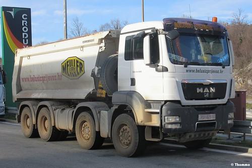 MAN TGS 41.480, 'Belušić prijevoz' - Potpićan (HR)