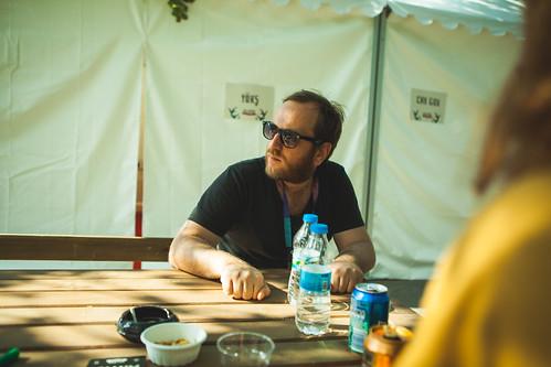 Yok Öyle Kararlı Şeyler (Backstage) - Nilüfer Music Festival'16
