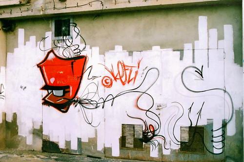 GRAFFITI RENNES KEFLI