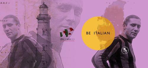 Giuseppe Meazza / Be Italian / Claudio Venturini Graphic Designer / Perugia