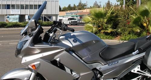 Yamaha FJR1300 Tinted Shorty Windshields